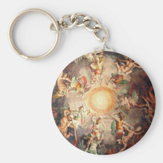 St Peters Bacillica Rome Italy Basic Round Button Key Ring