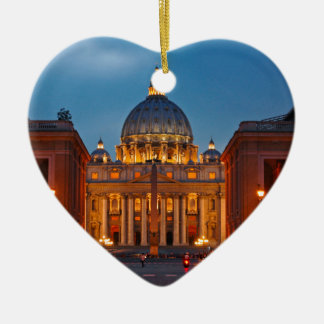 St. Peter's Basilica in Rome - Italy Christmas Ornament