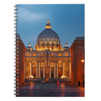 St. Peter's Basilica in Rome - Italy Notebooks