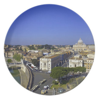 St. Peter's Basilica, State of the Vatican City Plate