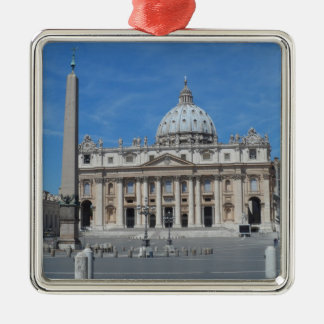 St Peter's Basilica- Vatican City Christmas Ornament