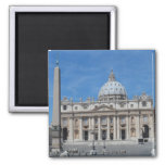 St Peter's Basilica- Vatican City Fridge Magnet
