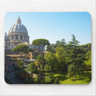 St. Peter's Basilica, Vatican City, Rome, Italy Mouse Mat