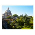 St. Peter's Basilica, Vatican City, Rome, Italy Postcard