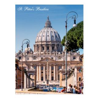 St. Peter's Basilica - Vatican Postcard