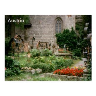 St. Peter's Cemetery, Salzburg, Austria Postcard