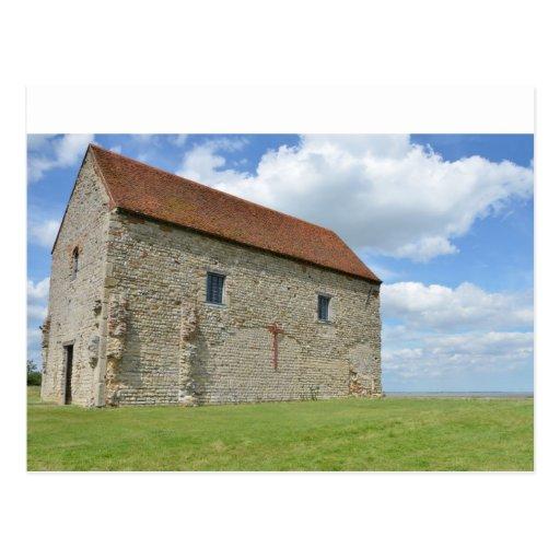 St Peter's Chapel Bradwell Essex Post Cards