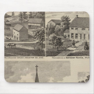 St. Peter's Church, Caledonia, Minnesota Mouse Mat