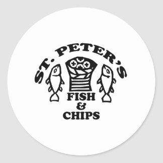 St. Peter's Fish & Chips Stickers