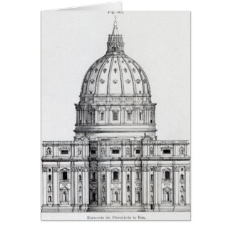 St. Peter's, Rome Card