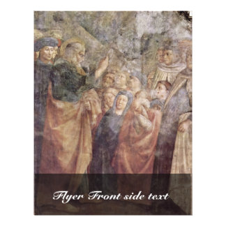 St. Peter'S Sermon To The Masses By Masolino (Best 21.5 Cm X 28 Cm Flyer