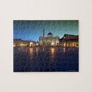 St Peters Square, Rome, Italy Jigsaw Puzzle