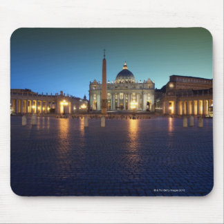 St Peters Square, Rome, Italy Mouse Pad