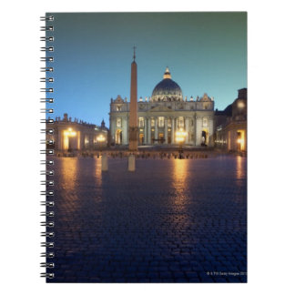 St Peters Square, Rome, Italy Spiral Notebook