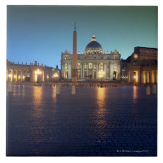 St Peters Square, Rome, Italy Tile