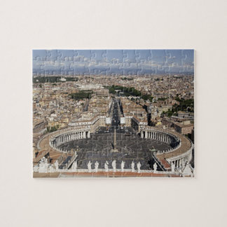 St Peters Square, Rome Jigsaw Puzzle