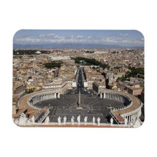 St Peters Square, Rome Rectangular Photo Magnet