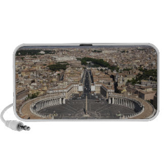 St Peters Square, Rome Travelling Speaker