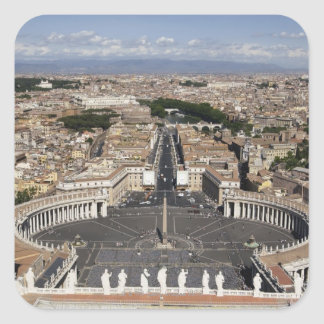 St Peters Square, Rome Square Sticker