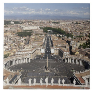 St Peters Square, Rome Tile