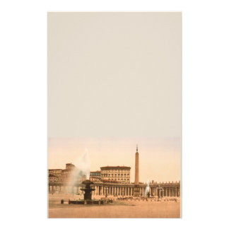 St Peter's Square, Vatican City Stationery Design