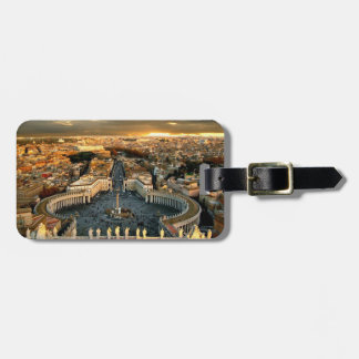 St Peters Square Vatican Luggage Tag