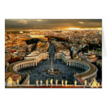 St Peter's Square, Vatican Note Card