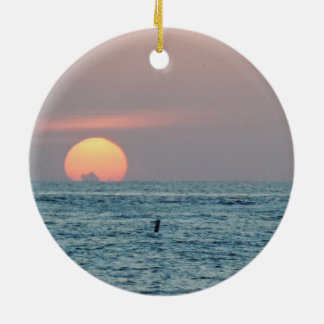 St Petersburg Beach Florida Sunset Christmas Ornament