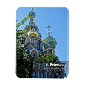 St. Petersburg, Church of the Savior on Blood Rectangular Photo Magnet