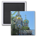 St. Petersburg, Church of the Saviour on Blood Square Magnet