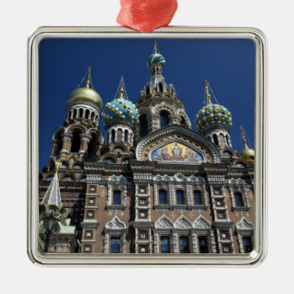St Petersburg church, Russia Christmas Ornament