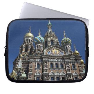 St Petersburg church, Russia Laptop Sleeve