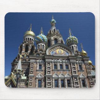 St Petersburg church, Russia Mouse Mat