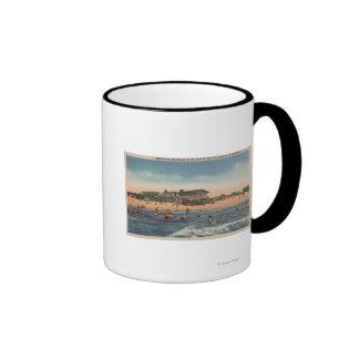 St. Petersburg, FL - View of Treasure Island Mugs