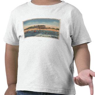 St. Petersburg, FL - View of Treasure Island Shirts