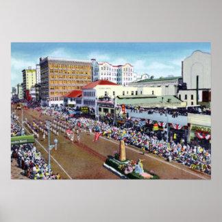 St Petersburg Florida Festival of States Parade Print