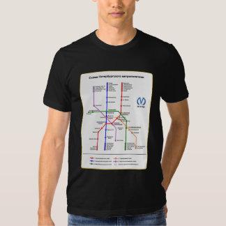 St Petersburg Subway T Shirt