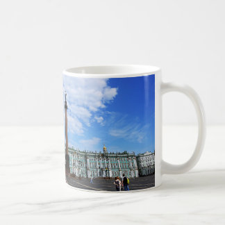 St. Petersburg, Winter Palace & Alexander Column Coffee Mug