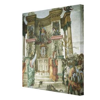St. Philip Exorcising a Demon, c.1497-1500 Gallery Wrap Canvas