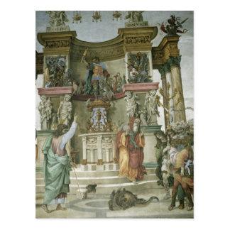St Philip Exorcising a Demon c 1497-1500 Postcards