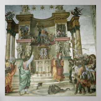 St Philip Exorcising a Demon c 1497-1500 Print