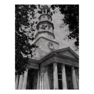 St. Philip's Church, Charleston Poster