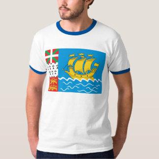 St. Pierre Flag T-shirt