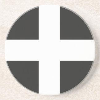 St Piran s Flag Cornwall Kernow Drink Coaster