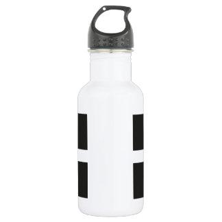 St Piran's Flag Cornwall Kernow 532 Ml Water Bottle