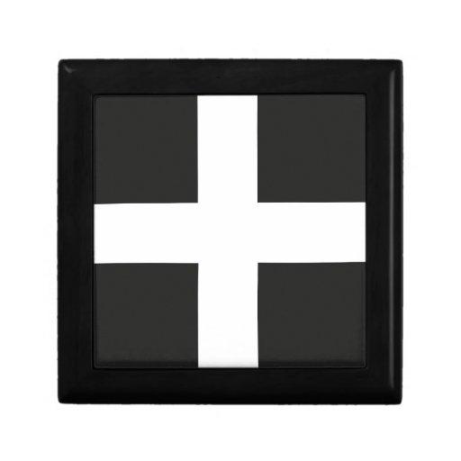 St Piran's Flag Cornwall Kernow Gift Box