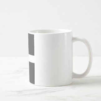 St Piran's Flag Cornwall Kernow Coffee Mug