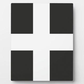 St Piran's Flag Cornwall Kernow Plaques