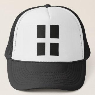 St Piran's Flag Cornwall Kernow Trucker Hat