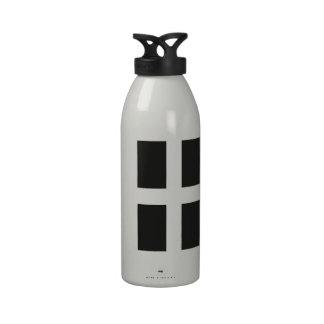St Piran's Flag Cornwall Kernow Water Bottles